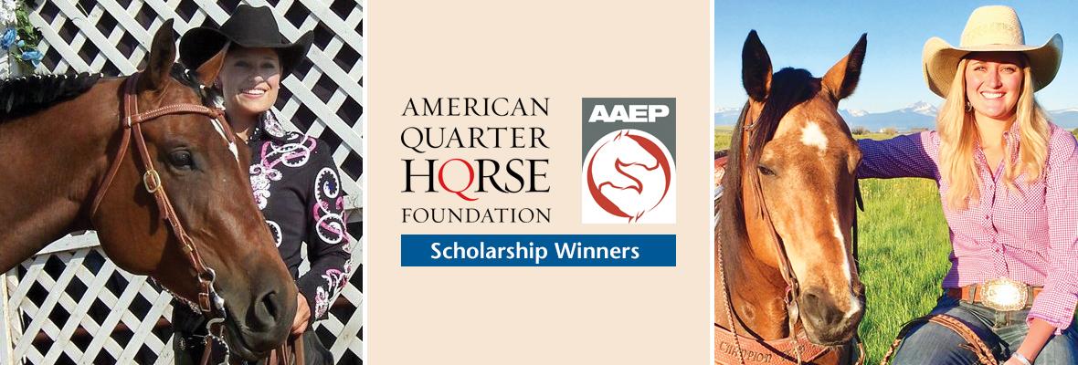 American Quaerter Horse Foundation Scholarship Winners